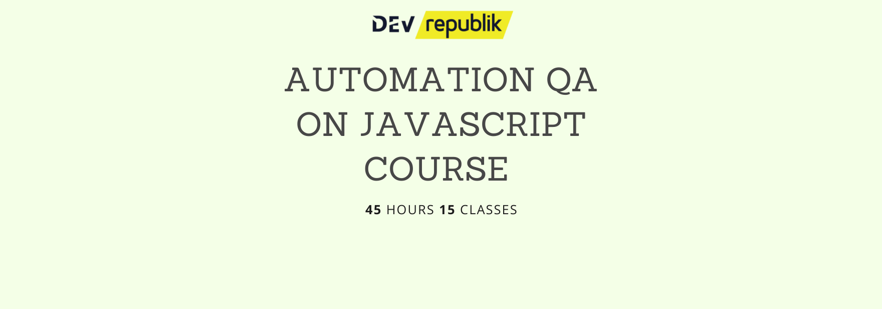 Copy of automation qa course website