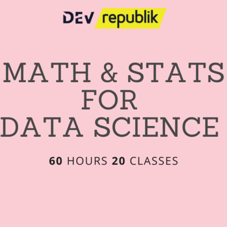 Math and Statistics for Data Science