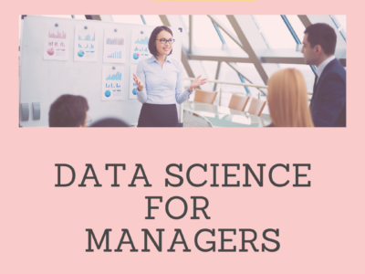 Data Science for managers