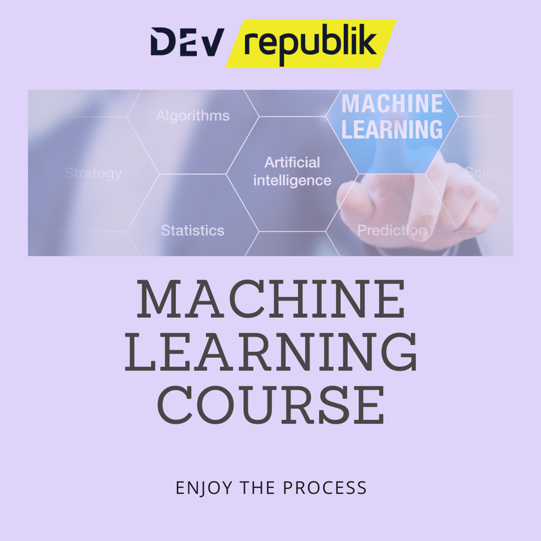 machine learning course website