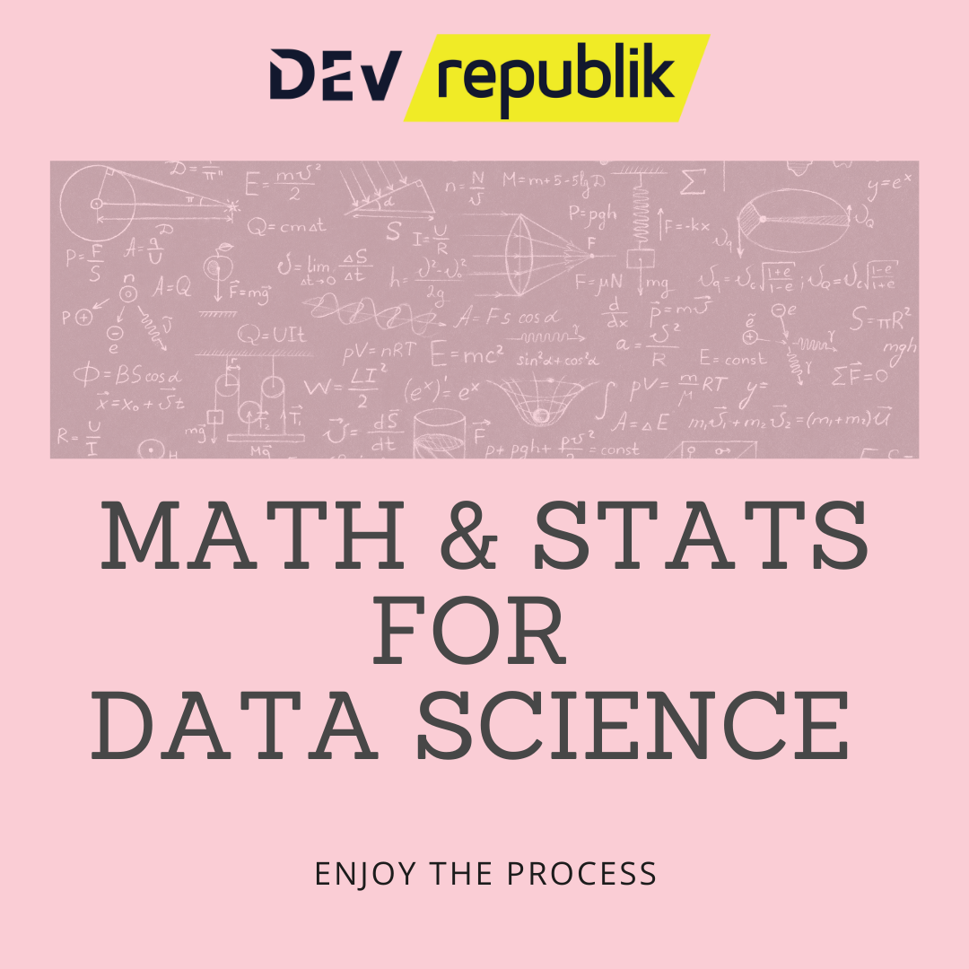 math and stats for DS course